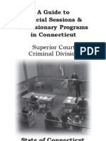 Connecticut Guide to Diversionary Programs