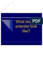 What Does a Scientist Look Like 2010