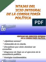 Ventajas del ejercicio integral de la Consultoría Política - Alberto Castaños