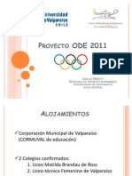 Proyecto ODE 2011