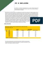 IPC e INFLACION Resumen de Santiago Geymonat