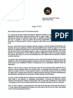 Governors Letter to PANYNJ