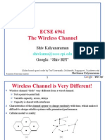 Wbn2007 Wireless Channel