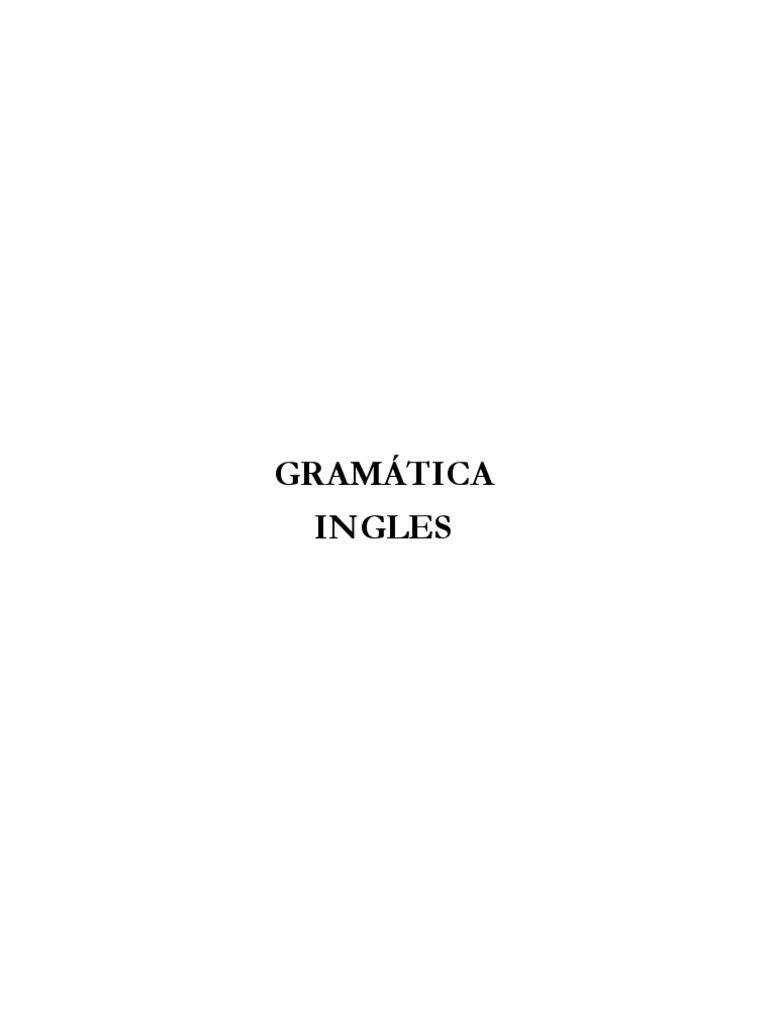 Gram a Tic a Ingles