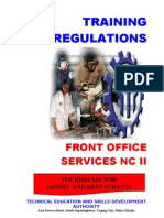 Tr Front Office Services Nc II