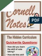 Cornell Notes Presentation