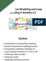 Rosetta Workshop Modeling