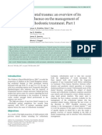 Dental Trauma_An Overview of Its Influence on the Management of Orthodontic Treatment.part 1.