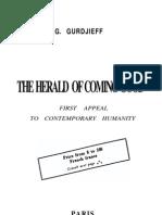 Gurdjieff - The Herald of Coming Good