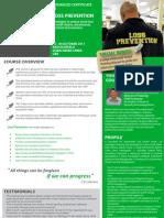 Advanced Certificate in Loss Prevention 02 - 04 October 2011 Dubai UAE