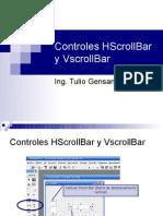 Controles HScrollBar y VscrollBar