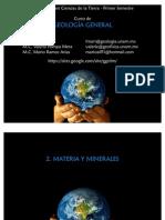 2 - Materia y minerales
