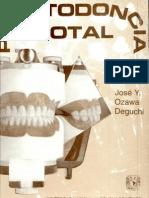 PROSTODONCIA TOTAL, José Ozawa Deguchi, 5ªEd, 1984