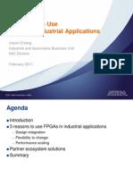 3 Reasons FPGAs Industrial Apps