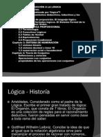 Lógica - Historía