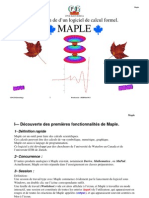 Maple MPSI Khouribga 2009_2010