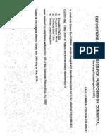 Kaitaia District Court Registrar Tania Parker falsifies date to frame Simon Kaiwai