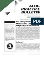 Uso de Medicamentos Psiquiatricos en El Emb.