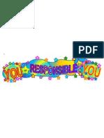 You Responsible You