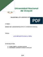 Los Impuestos en El Peru