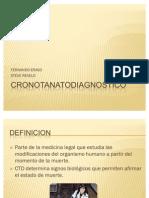 CRONOTANATODIAGNOSTICO