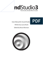 Sound Studio Manual