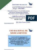Ponencia Campaña Nacional USO DE MEDICAMENTOS 2008