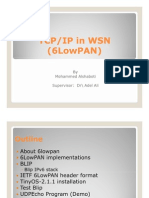 6LowPAN Presentation