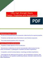 Design Ultra High Strength Steel