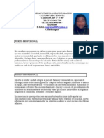 Maria Catalina Lozano Palacios Hoja de Vida Actual