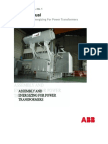 Power Transformer User's Manual
