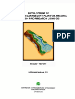 Development of a Watershed Management Plan for Amachal Through ion Using GIS_report