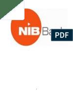Internship Report on NIB