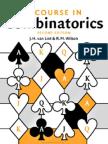 A Course in Combinatorics Second Edition