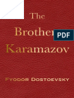 The Brothers Karamazov Fyodor Dostoevsky