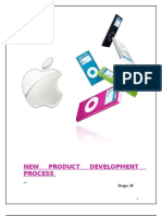 iPOD New Product Development Process