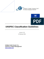 UNSPSC Classification Guidelines-040209-Revised Final