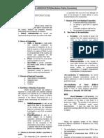 Public Corporations Law 2 Memory Aid (2)