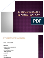 Systemic Diseases in Opthalmology