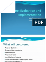 Project Evaluation Implementation
