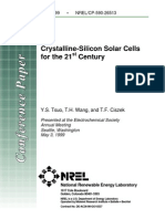 26513_ Crystalline-silicon Solar Cells for the 21st Century