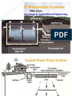 Household Waste Water Systems