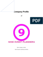 Business Company Profile Template