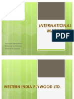 Western India Plywood Ltd