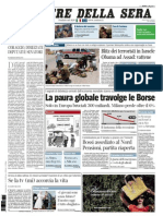Corriere Della Sera 19.08.11