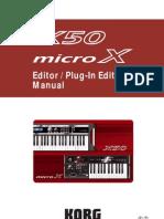 MicroX50Editor OM E2