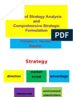 Report on Strategic Management, August 13, 2011 by Flordeliza Navidad