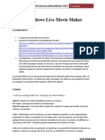 Atelier Windows Live Movie Maker -JL