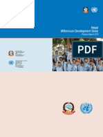 Nepal MDG Progress Report 2010