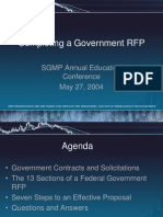 How to Write a Proposal for a Government RFP